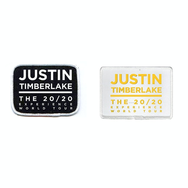 Justin Timberlake 20/20 World Tour Patch Set