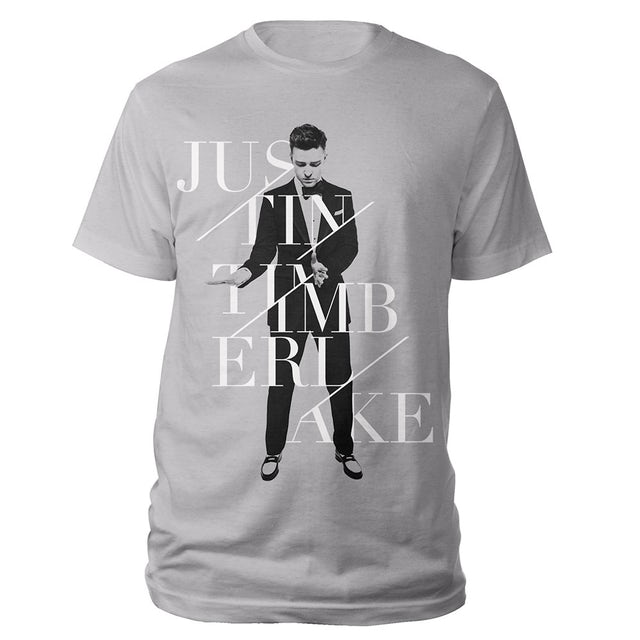Justin Timberlake Silver World Tour Tee