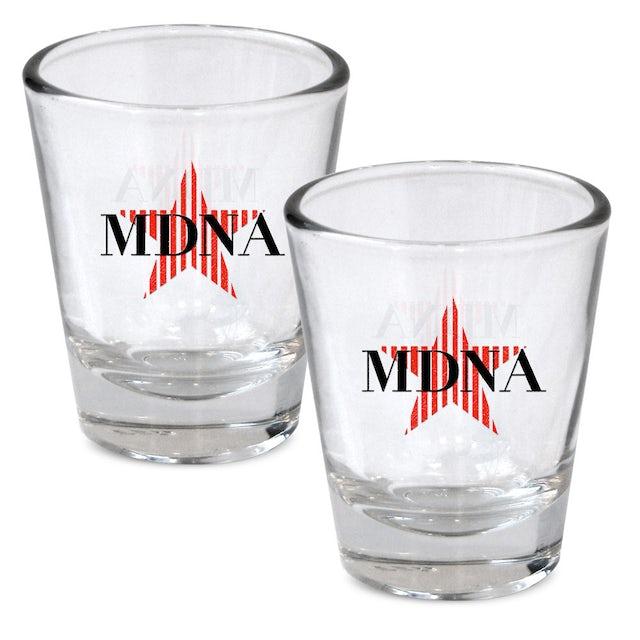 Madonna Shot Glass