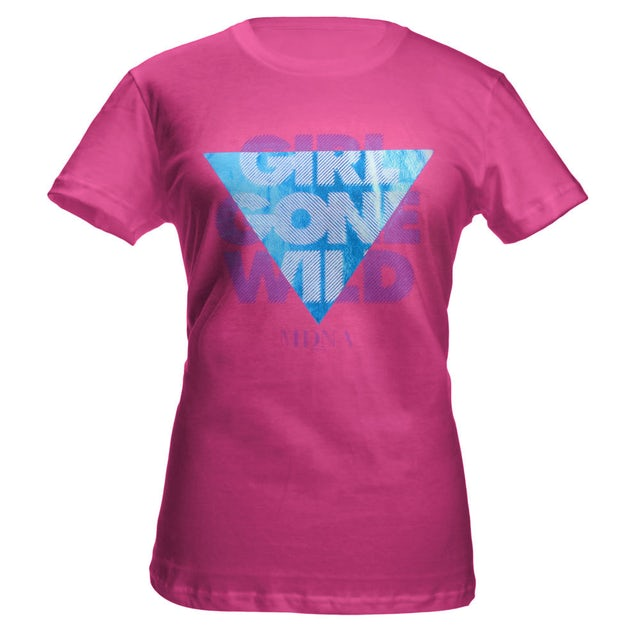Madonna MDNA Juniors Girls Gone Wild Tee