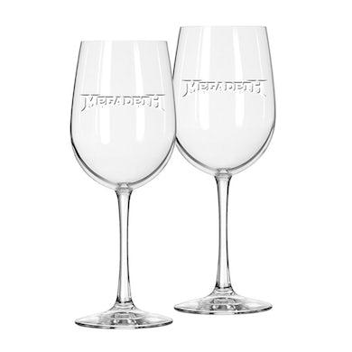 Megadeth Wine Glass Set