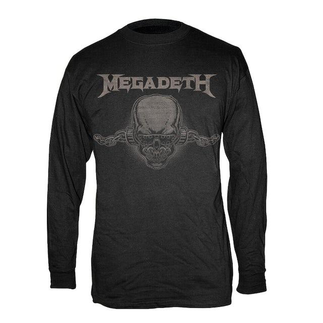 Megadeth Long Sleeve Vic Tee