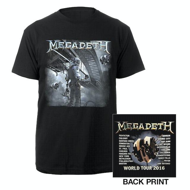 Megadeth Dystopia Itin Tee