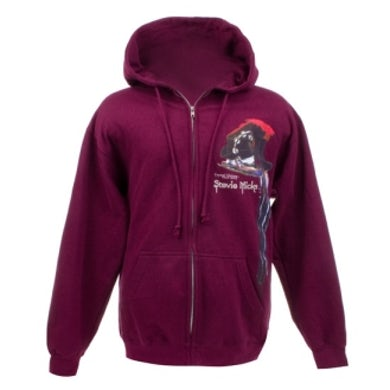 Stevie Nicks Feather Zip-Up Hoody