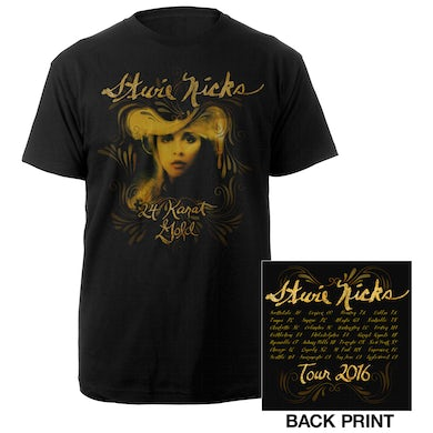 Stevie Nicks 24 Karat Gold Album Cover Tour Tee*