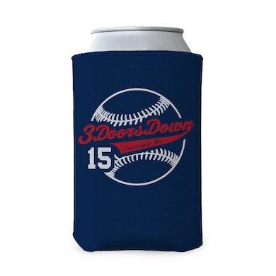 3 Doors Down 2015 Tour Baseball Coozie