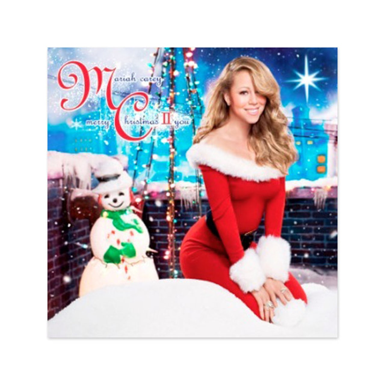 Mariah Carey Christmas Album Cover.Mariah Carey Merry Christmas Ii You Standard Cd