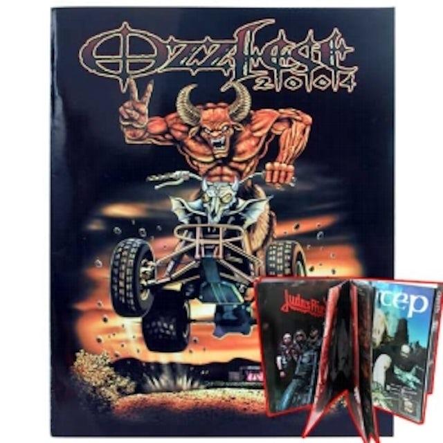 Ozzy Osbourne Ozzfest 2004 Tour Program