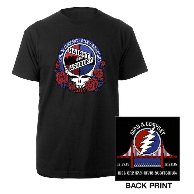 Dead & Company San Francisco, CA Exclusive Event Shirt