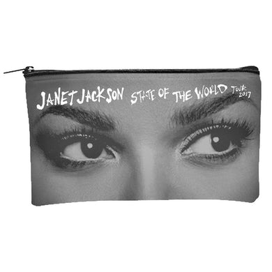 Janet Jackson State Of The World Tour 2017 Cosmetic Bag