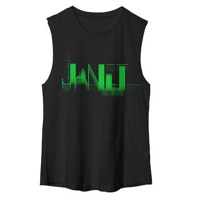 Janet Jackson No Sleep Muscle T-Shirt