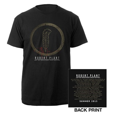 Robert Plant Feather/Itin 2015 T-shirt