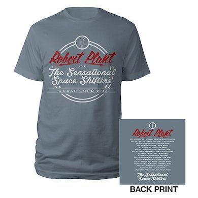 Robert Plant Logo Tour/Itin 2015 T-shirt