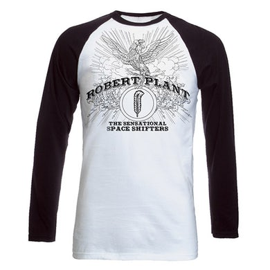 Robert Plant Phoenix Black/White Raglan