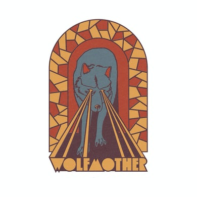 Wolfmother Embroidered Patch