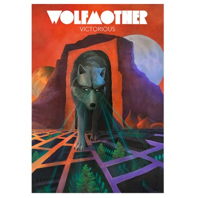 Wolfmother Victorious Album Litho