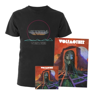 Wolfmother Victorious Tee + Litho + CD