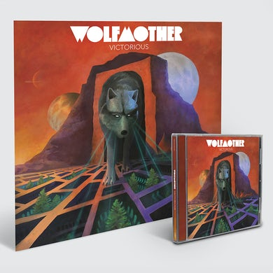 Wolfmother Limited Edition Lenticular Cover + CDFirst 200 Orders will be Autographed