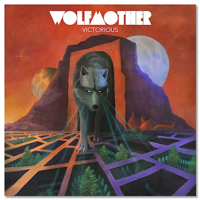 Wolfmother Victorious VinylIncludes 12x12 Lenticular + Download Card