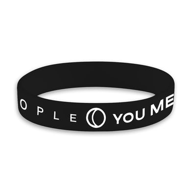 You Me At Six YMAS Logo Black Wristband