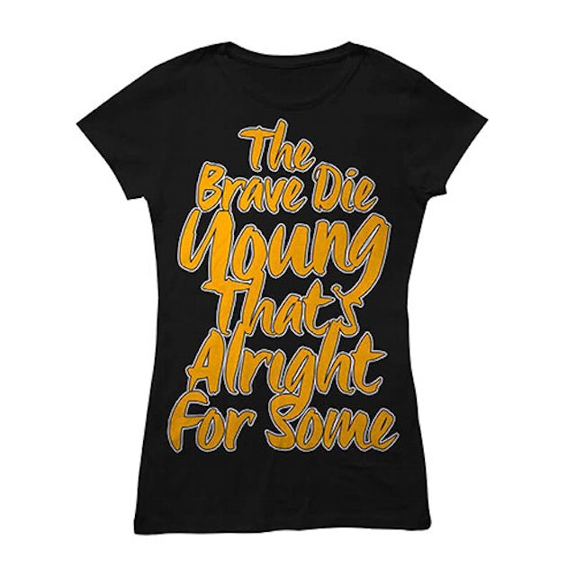 You Me At Six Brave Die Young Black Babydoll