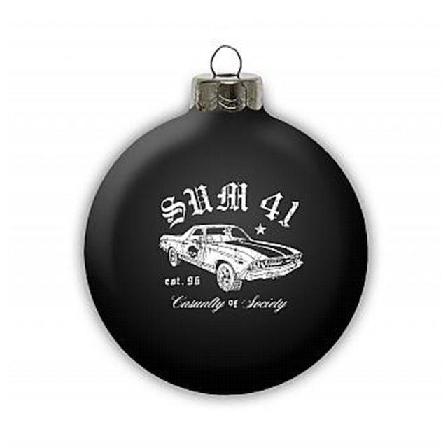 Sum 41 Holiday Ornament