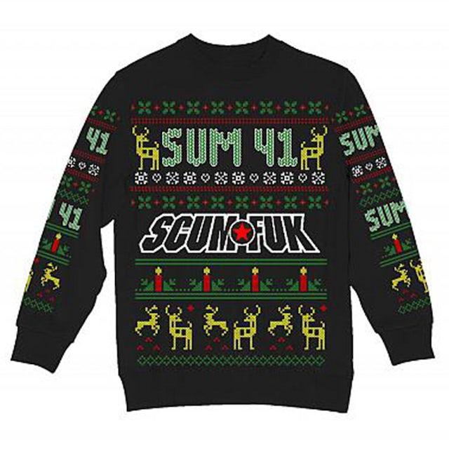 Sum 41 Ugly Christmas Sweatshirt