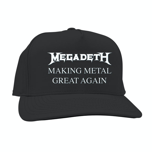 Megadeth Making Metal Great Again Black Hat