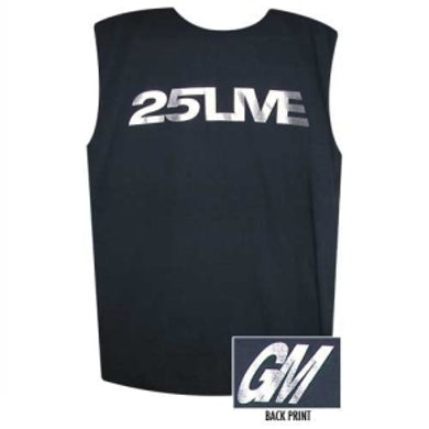George Michael 25Live Muscle Tee