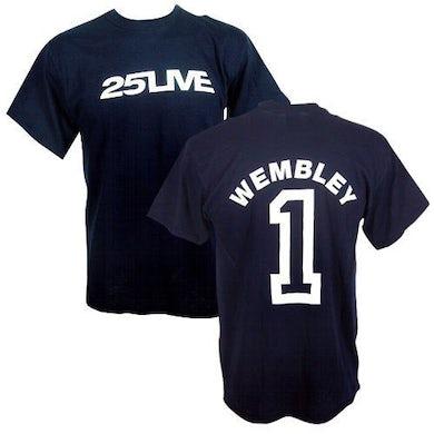 George Michael GM Wembley Event 25Live Navy T-shirt