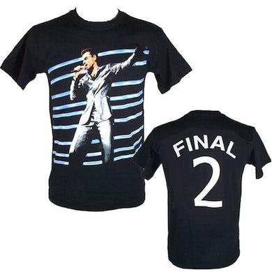 "George Michael GM Earls Court ""Final 2"" Event  Black T-shirt"