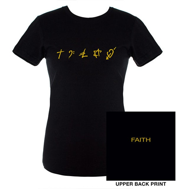 George Michael Faith Symbols Babydoll