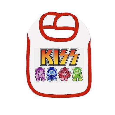 KISS Bears Baby Bib