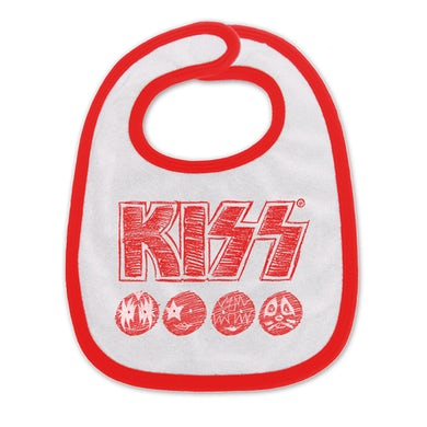 Kiss Sketch Bib