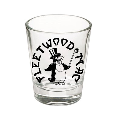 Fleetwood Mac Penguin Logo Shot Glass