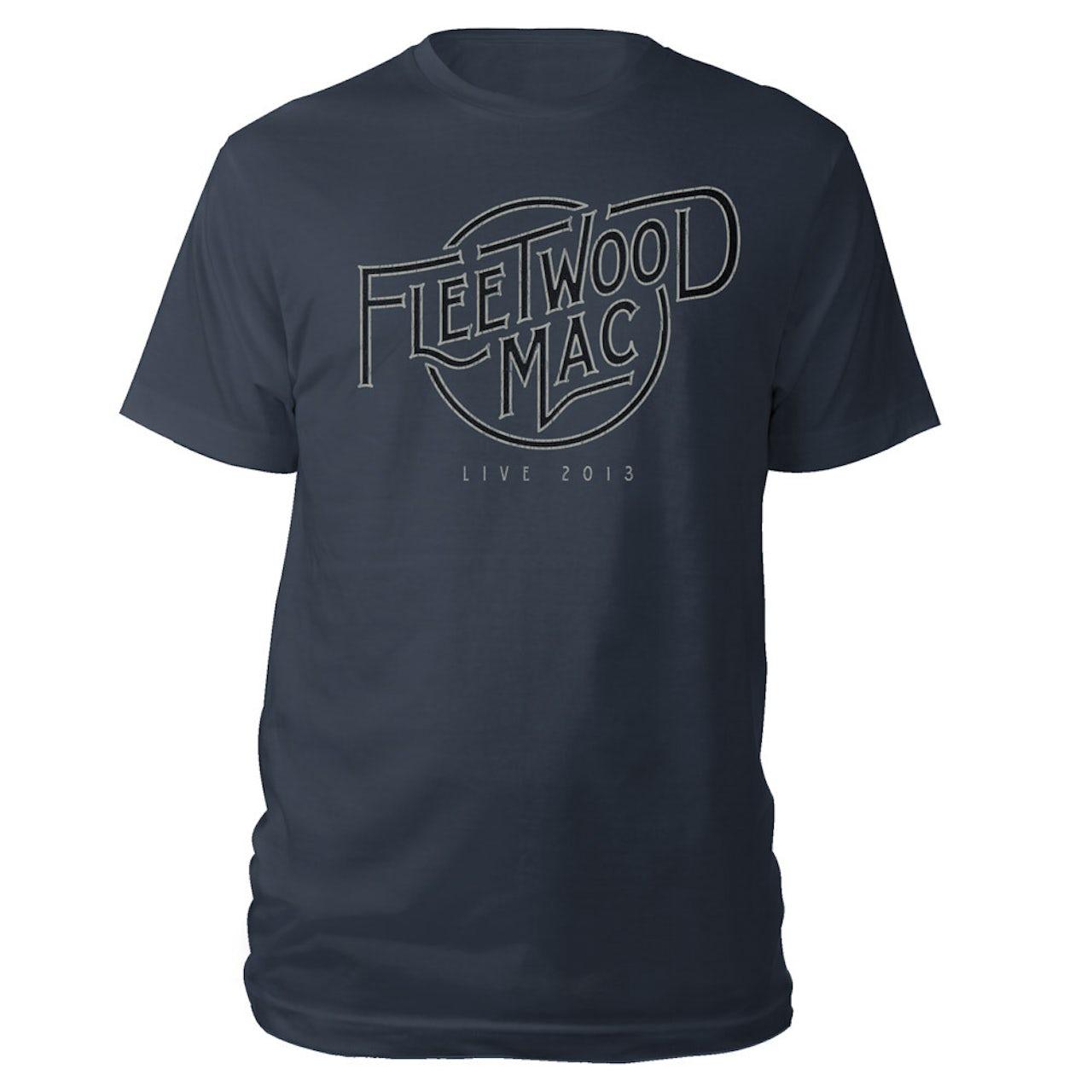 8df0737c2 Fleetwood Mac Live Logo Tee