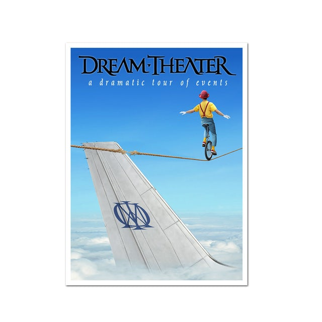 Dream Theater Dramatic Turn Of Events Poster