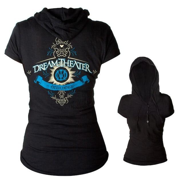 Dream Theater Women's Hooded Henley