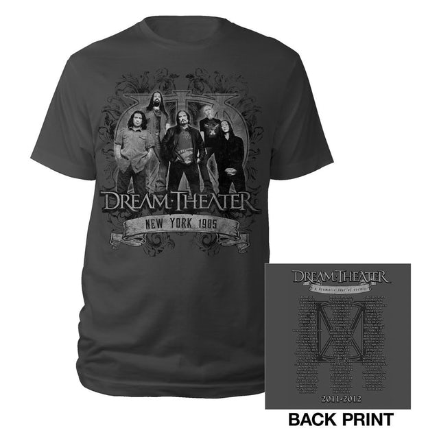 Dream Theater LIMITED QUANTITY - Expanded Dates - 11/12 World Tour Tee