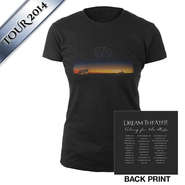 Dream Theater Women's Along For The Ride Euro Tour Tee