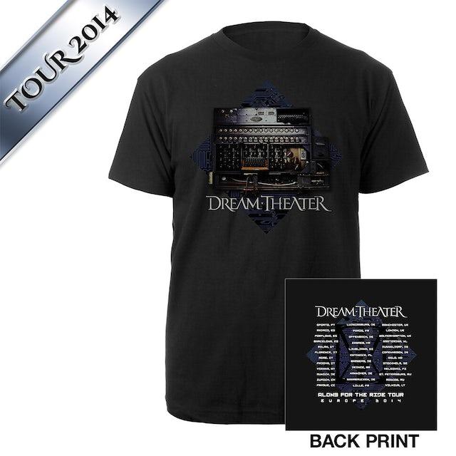 Dream Theater Enigma Machine Euro Tour Tee