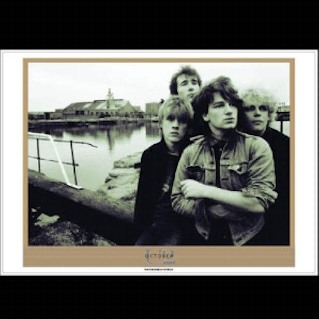 U2 October Album Lithograph
