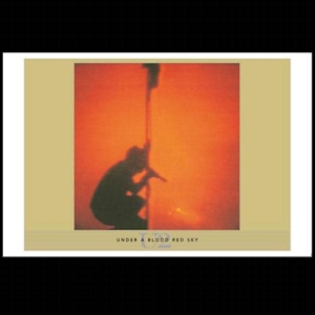 U2 Under a Blood Red Sky Album Lithograph