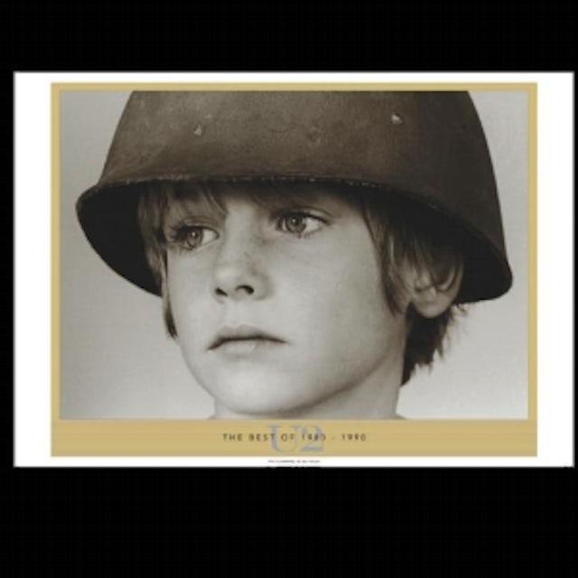 U2 Best of 1980-1990 Album Lithograph