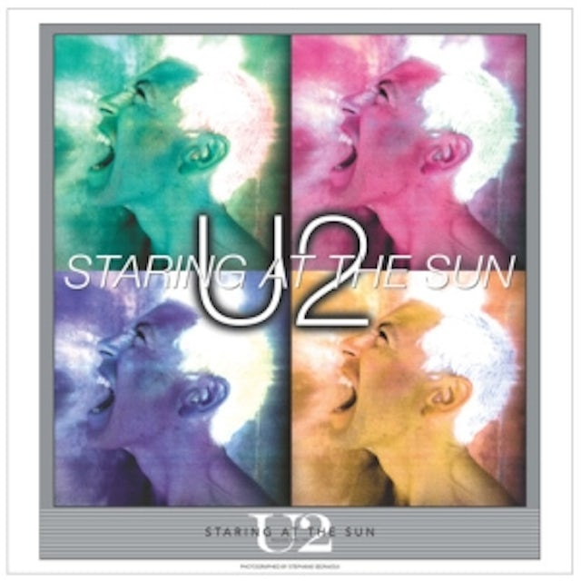 """U2 The Single Collection """"""""STARING AT THE SUN"""""""" Lithograph"""