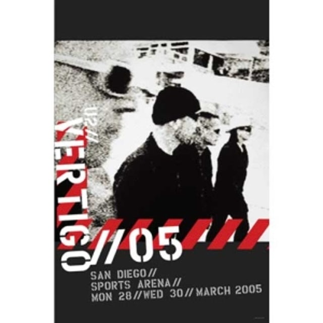 U2 San Diego Event Poster