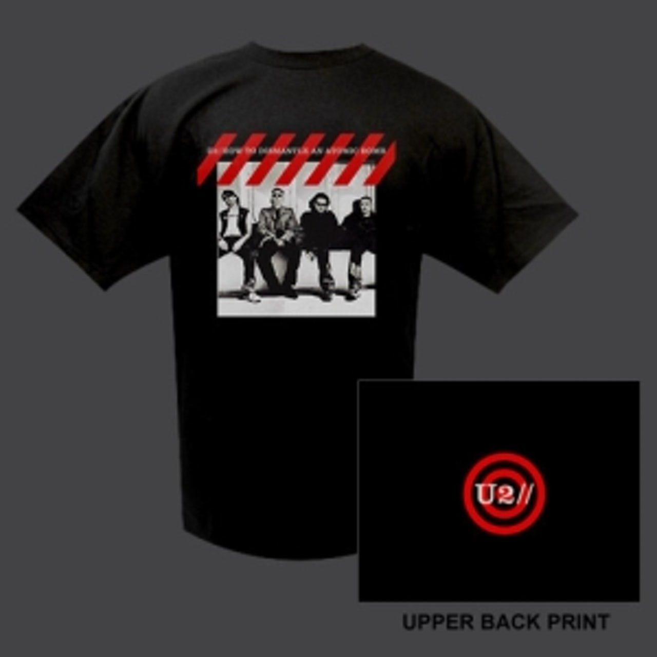 U2 'How To Dismantle An Atomic Bomb' Album Cover T-shirt