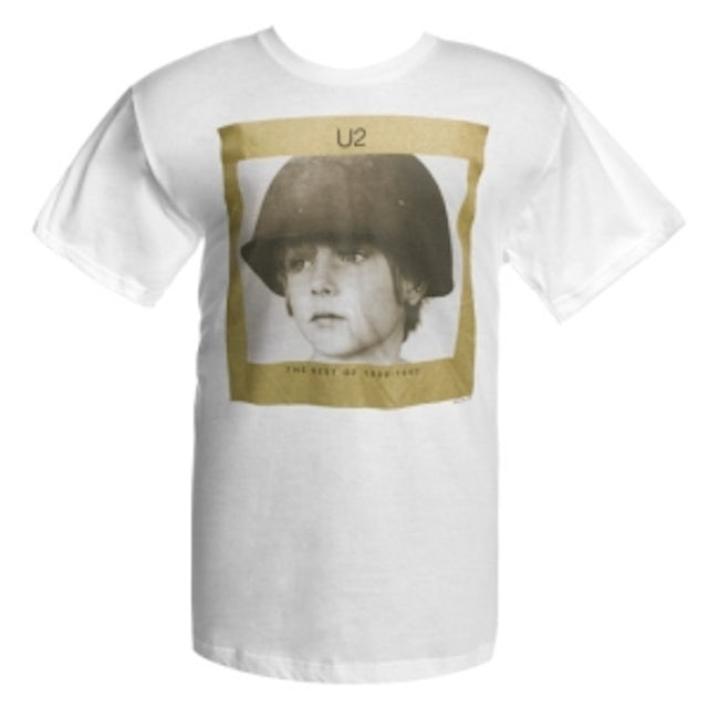 U2 The Best of 1980-1990 Album Cover T-Shirt