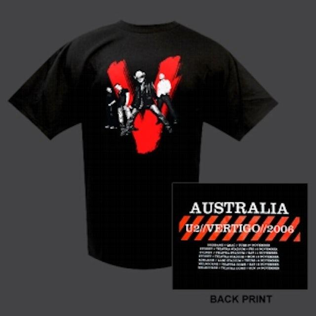 U2 Vertigo Shirt, Aus/NZ Dates
