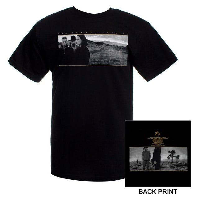 U2 The Joshua Tree Album Cover T-Shirt